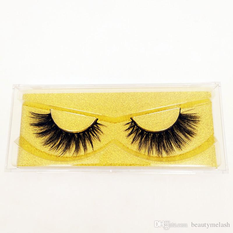 3D Mink Lashes Top Eyelashes Extension 100% Handmade Thick Volume Long False Lash Makeup Giltter Packing Can Customize Private Label logo
