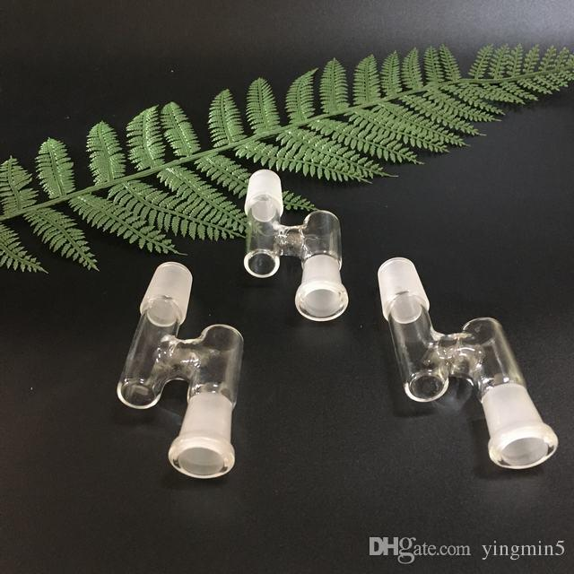 Collettore di recupero del vetro 14mm femmina a 18.8mm maschio e 18.8 femmina a 14mm maschio catcher adattatore Z bong di vetro