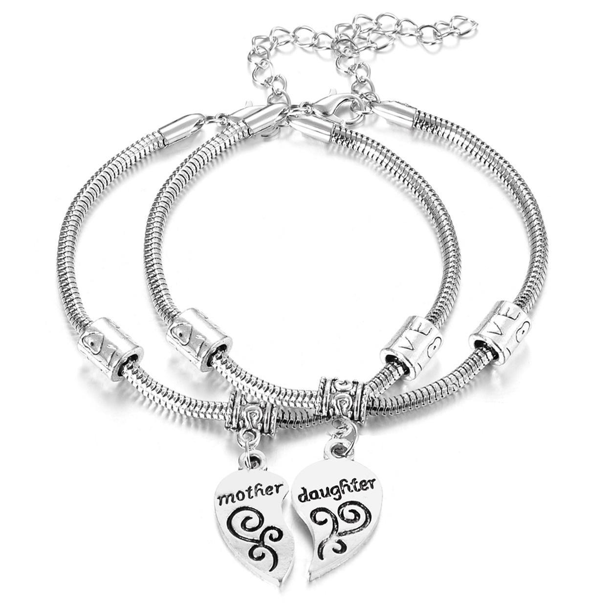 Acheter Amour Bracelet Bracelet Femmes Noël Fête Des Mères Cadeau