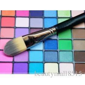 Fábrica al por mayor profesional nuevo cosméticos cepillos M190 Foundation Liquid Cepillo Maquillaje Individual Fundación Crema Cepillos Envío Gratis