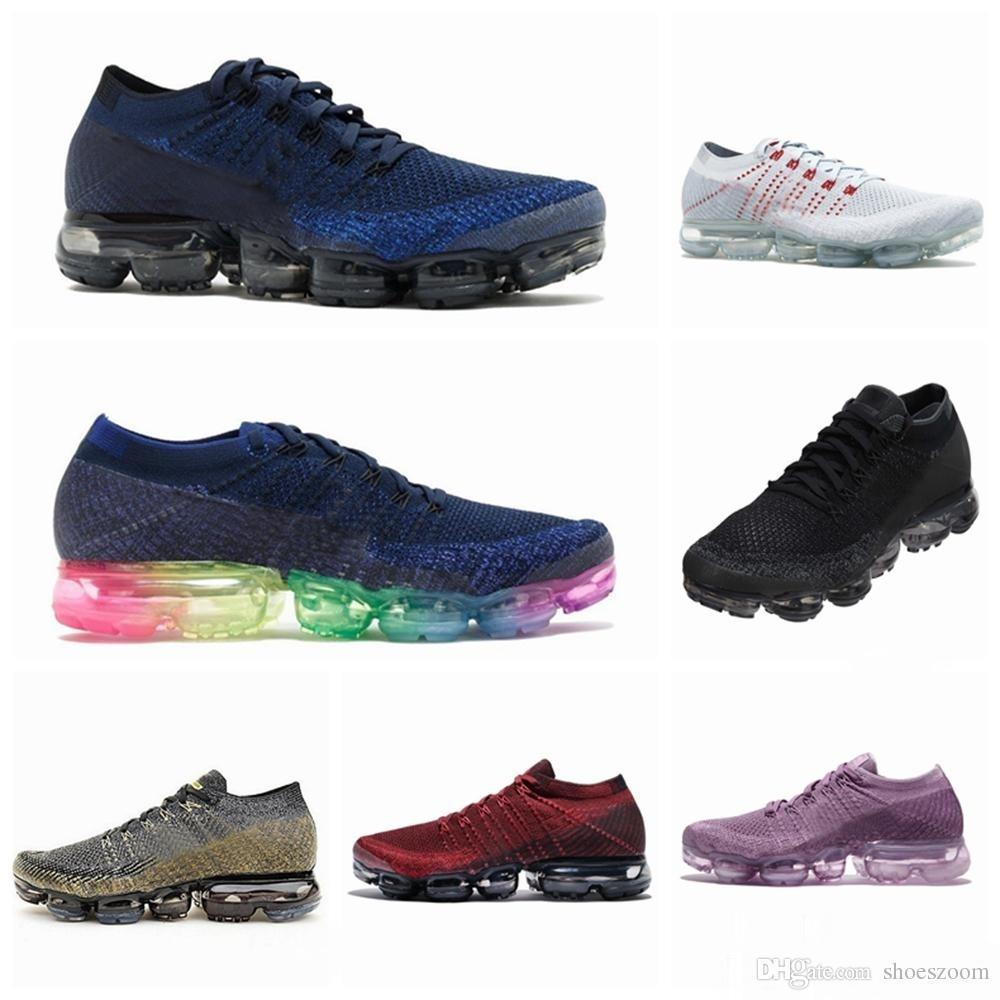 new style bcd21 2e2e4 2018 Calzado De Diseño Para Hombre De Mujer TN Plus VM Running Shoes 2.0  Cojín De Aire Negro Blanco Deportivo M Vapormax S Zapatillas Deportivas  Nike Air ...