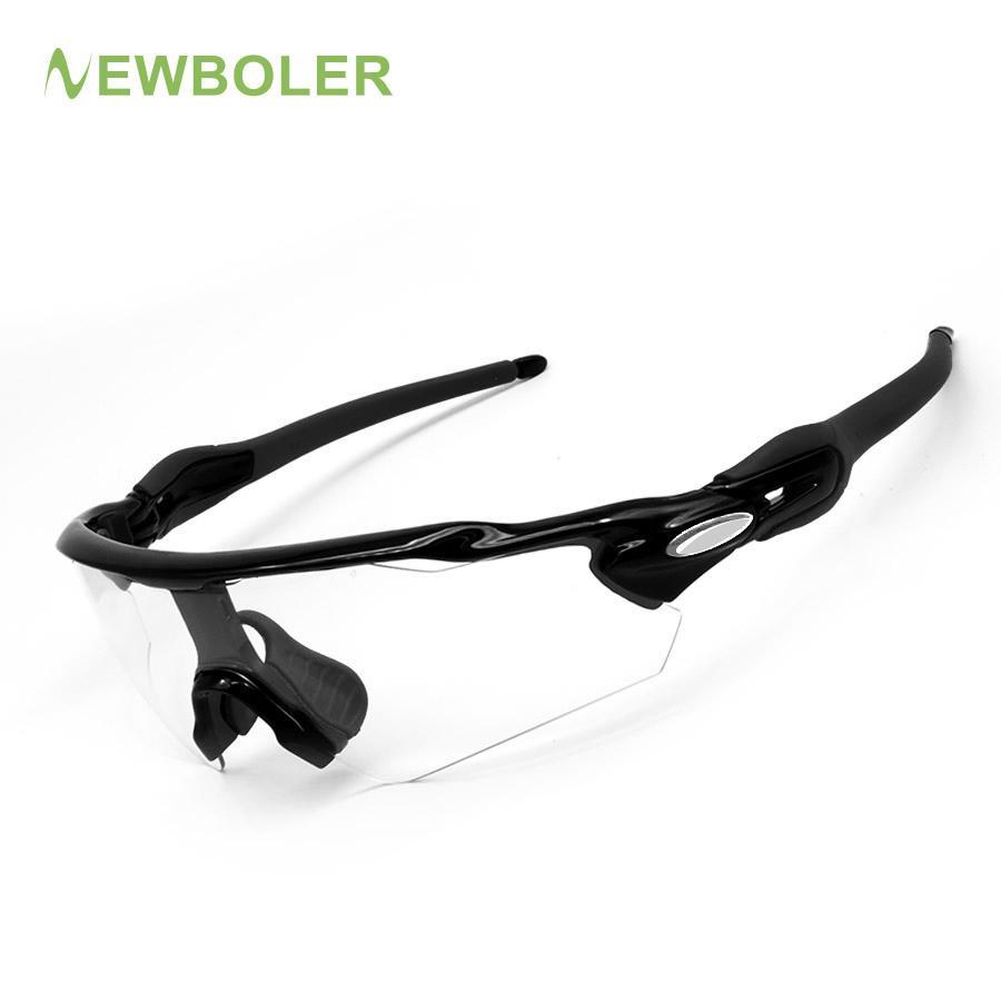 3cc1fcdcbe 2018 NEWBOLER Photochromic Cycling Sunglasses Men MTB Sports Eyewear ...