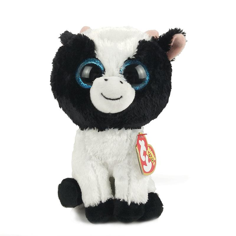 6 15cm Butter The Cow Plush Regular Soft Big Eyed Stuffed Animal  Collectible Doll Toy UK 2019 From Vanilla14 413b39714ada