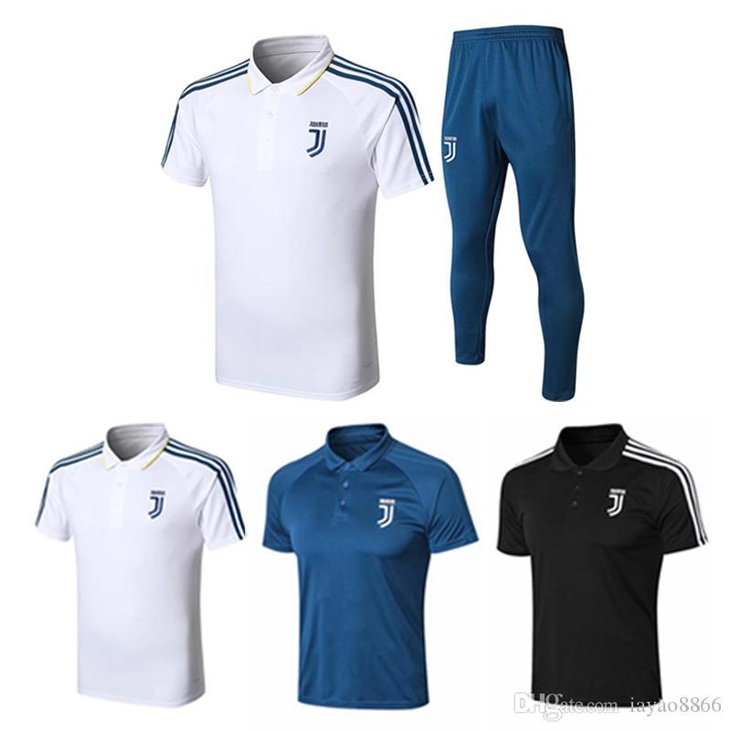 new style 51741 0ce96 2018 RONALDO JUVENTUS training wear Soccer Jersey Set 18 19 JUVE DYBALA  HIGUAIN BUFFON Camisetas Futbol Camisas Maillot Football Shirt Set