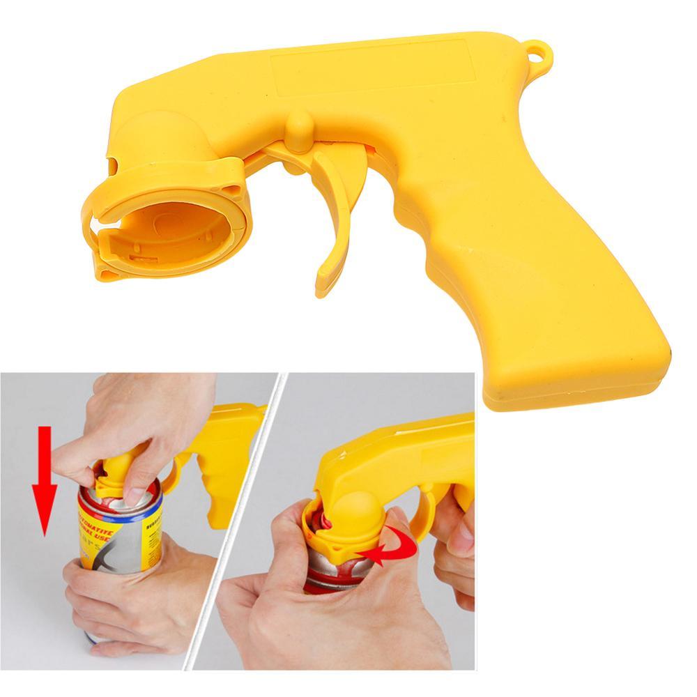 Auto Manutenção Portátil Car Care Spray Adaptador Gun Paint Locking Collar Handle Com Manoplas Full Gripger Car-styling
