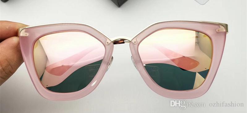 592e46fbe4 Hot Sale 2018 New Sunglasses Women Brand Designer Fashion Summer Style Cat  Eye Sun Glasses Women S Sunglasses SPR 53S With Box Fastrack Sunglasses  Smith ...