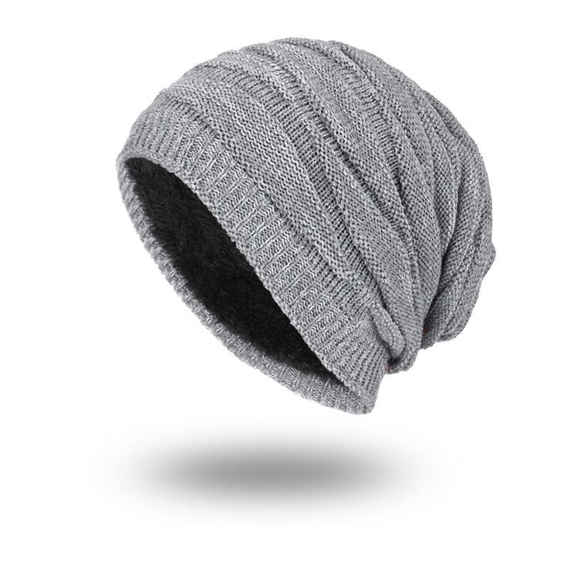 520ad8fe Joymay 2018 New Winter Beanies Hot Sale Solid Color Hat Unisex Plain Warm  Soft Skull Knitting Cap Hats Touca Gorro Caps for Men Women WM055