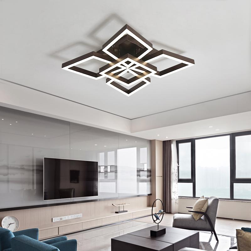 Wonderful 2019 Led Ceiling Lights Simple Modern Living Room Lamp Study Simple  Atmospheric Design Creative Aluminum Bedroom Led Light From Alluring,  $360.6 | DHgate.