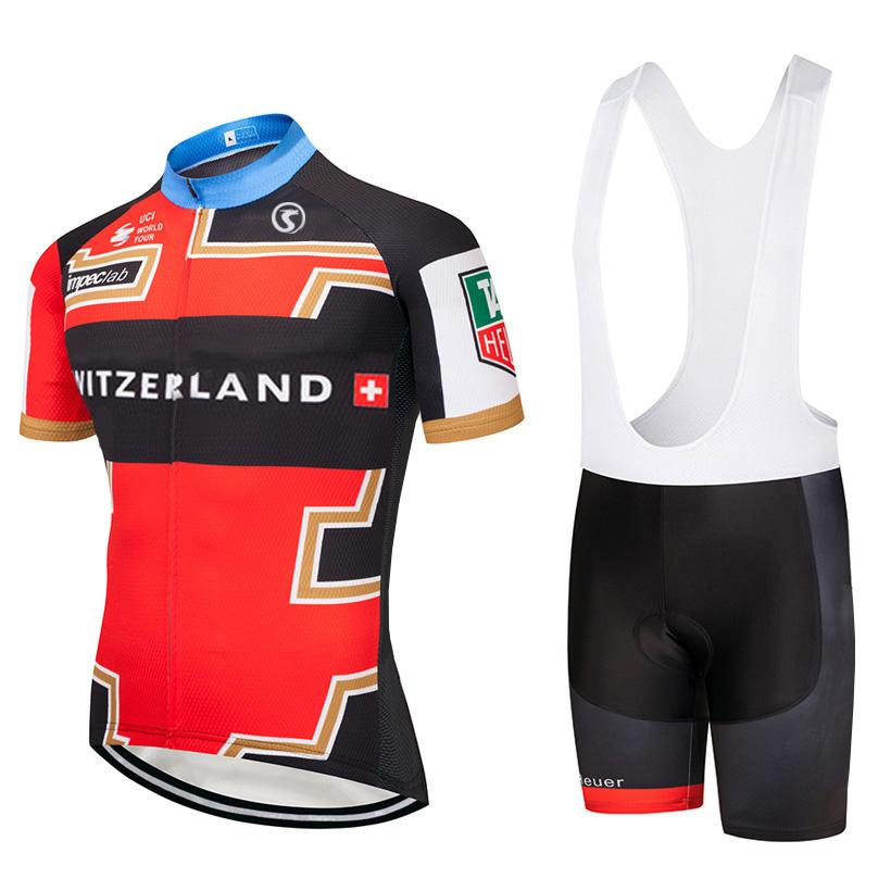 0d85c1e73 2018 Switzerlands Team Cycling Jersey 9D Gel Pad Bibs Shorts Ropa Ciclismo  Racing Pro Bike Shirts Mens Bicycling Maillots Suit Cycle Jackets Mountain  Bike ...
