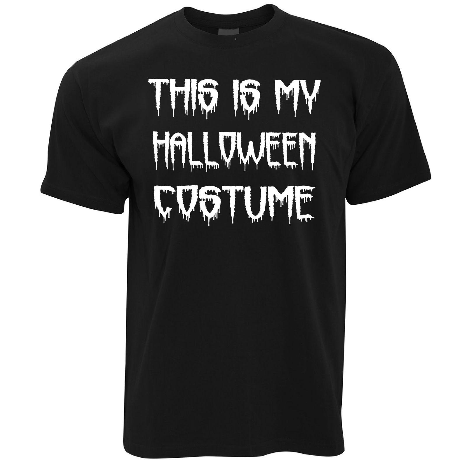 e4836048 This Is My Halloween Costume Spooky Scary Trick Treat Dad Mom Mens T Shirt  Stranger Things Design T Shirt Shirt And Tshirt Create Your Own T Shirt  Design ...