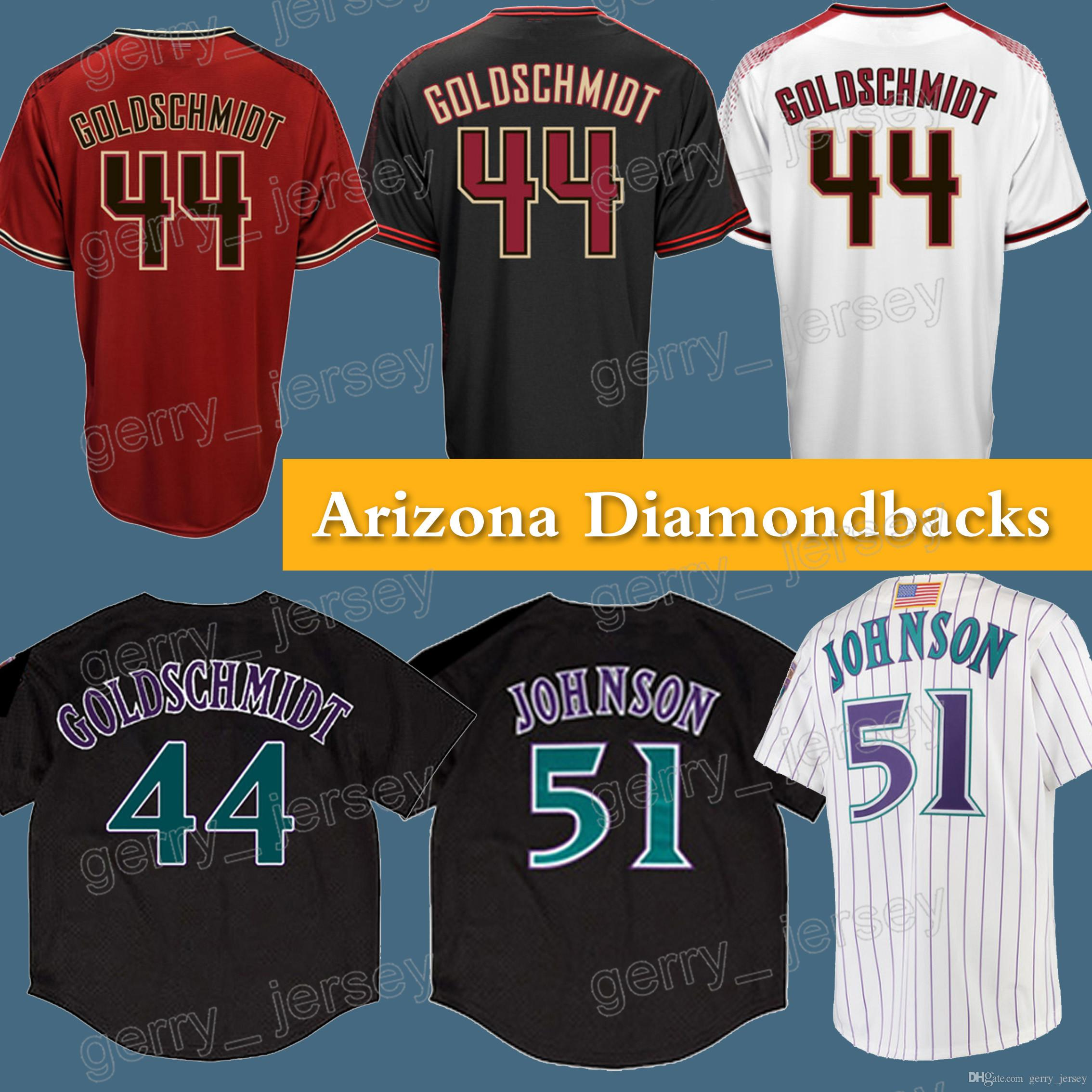 b13d3996 ... shop arizona diamondbacks jersey 1819 51 rj bh 44 paul goldschmidt  jersey high quality hot sale