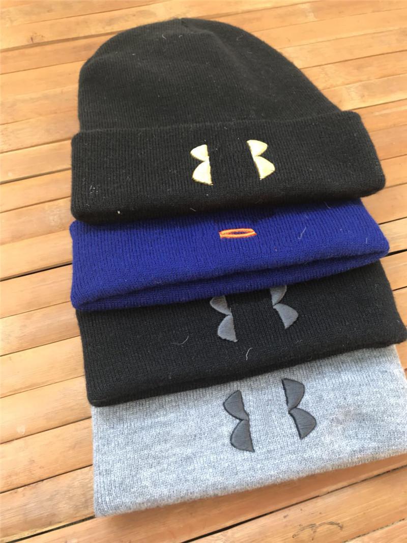2288246ebe790 Unisex UA Beanie Knit Winter Hats Under Embroidery Designer Beanies Warm  Knitting Amor Beanies Crochet Skull Caps for Women Men Children Use Online  with ...