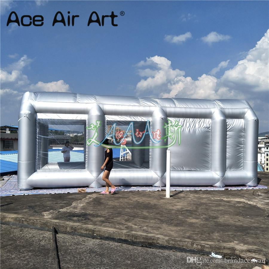 Portable Paint Booth >> 2019 Giant Inflatable Paint Booth Inflatable Spray Booth