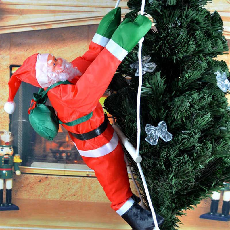 40cm ladders santa claus christmas decorations fashion home decorations cute christmas tree pendants decor christmas gifts mfd78 wholesale christmas