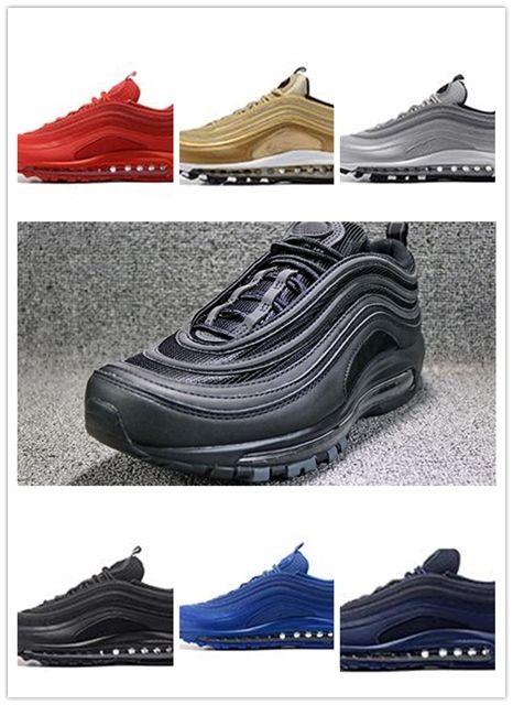 2018 Classic 97 Running Shoes 97 Og Undftd 97 Undefeated Triple White OG  Metallic Gold Silver Bullet Mens South Beach Tripl Classic 97 Running Shoes  2018 ... 7d6a8282b