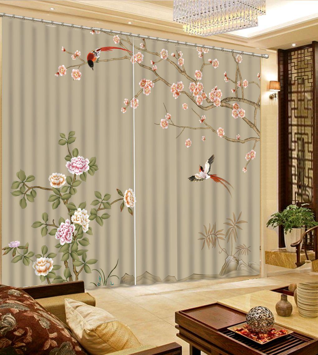 атмосфера 3d шторы современная штора водопад пейзаж шторы для гостиной