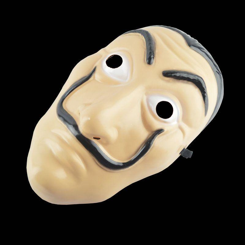 Cosplay Máscara Do Partido La Casa De Papel Máscara Facial Salvador Dali Máscara de Filme Realista Halloween Suprimentos de Halloween HH7-929
