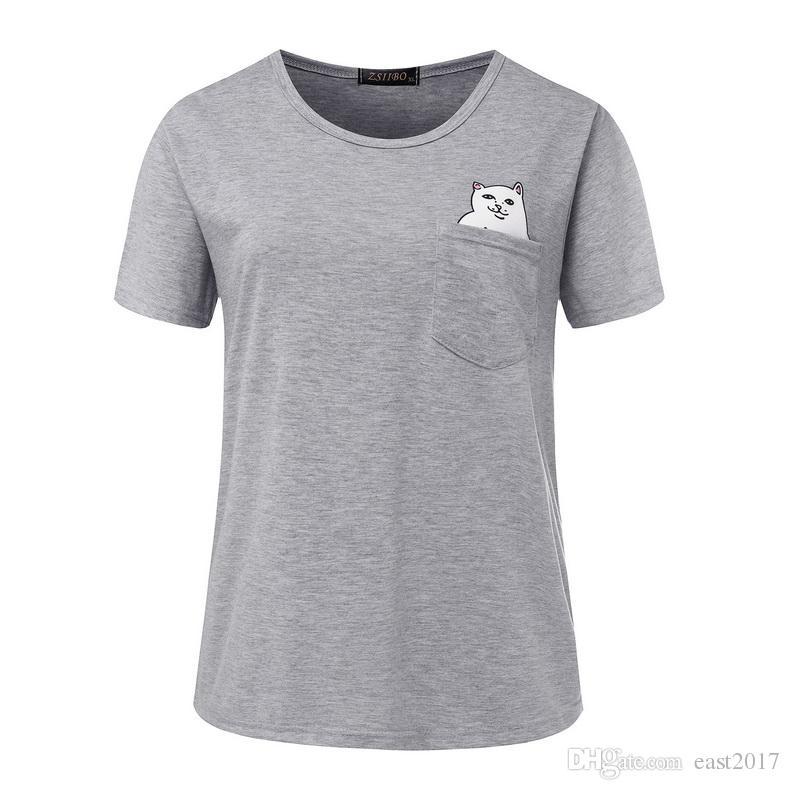 8239659b Gray Short Sleeve Men's T-shirt Slim Round Neck Men's Clothing ...
