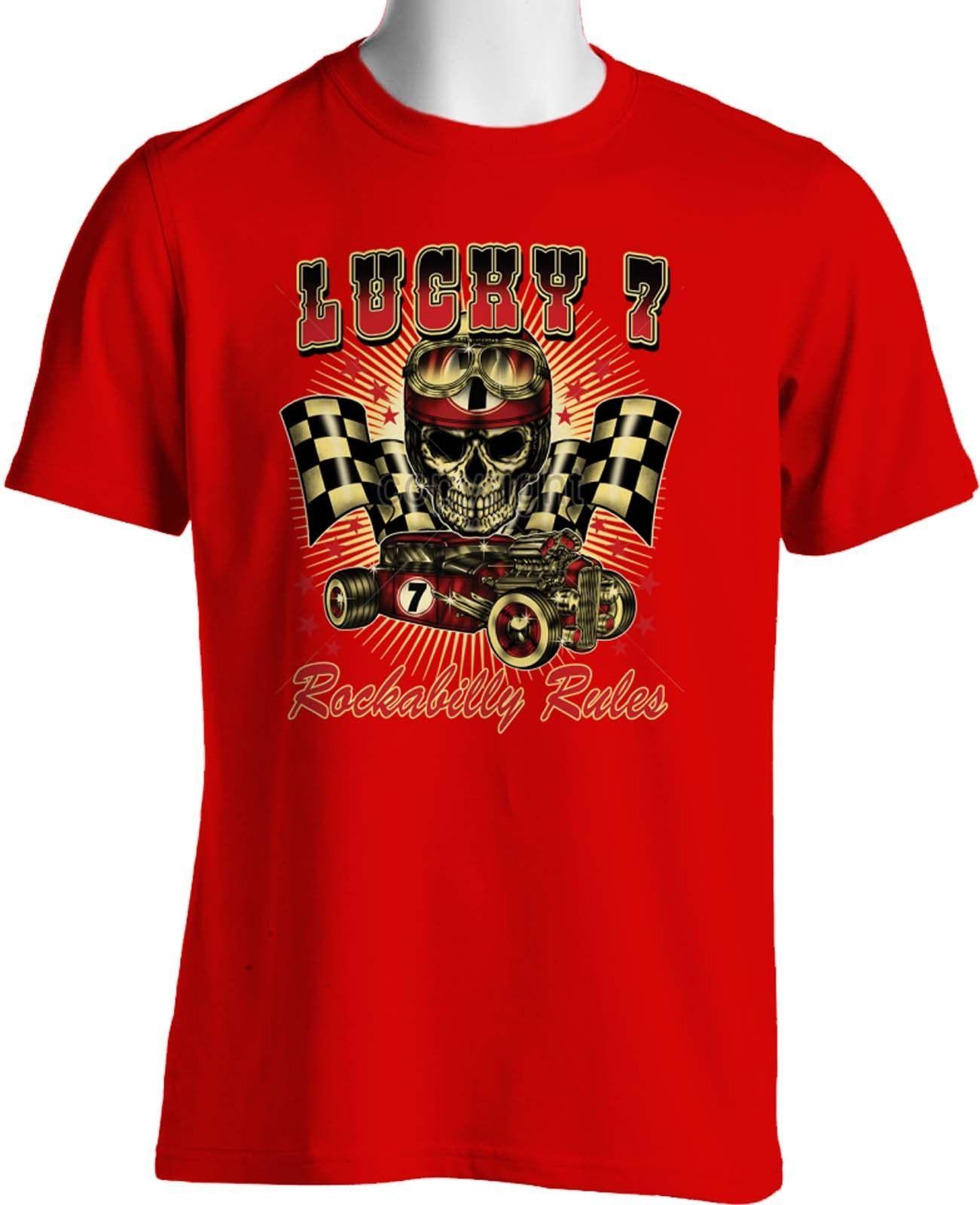 Franky Boy`s Apparel//Rockabilly//Proud UK Greaser Baseball Red Long Sleeve shirt