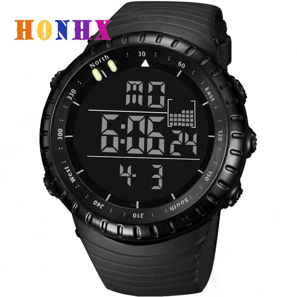 2018 New Fashion Waterproof Mens Boys Digital Watch Led Quartz Alarm Date Sports Wrist Watches Relogio Feminino Dropshipping 20 Children's Watches