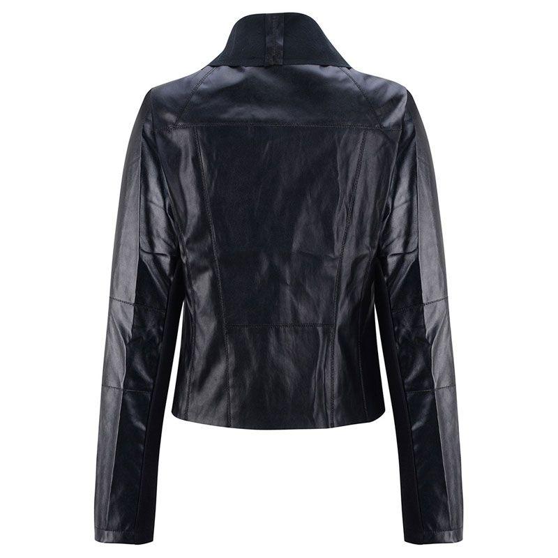 Volocean 2017 Autumn Winter Female Jacket Short Coats Casual Jackets for Women Leather Jacket Women Plus Size Coat Female