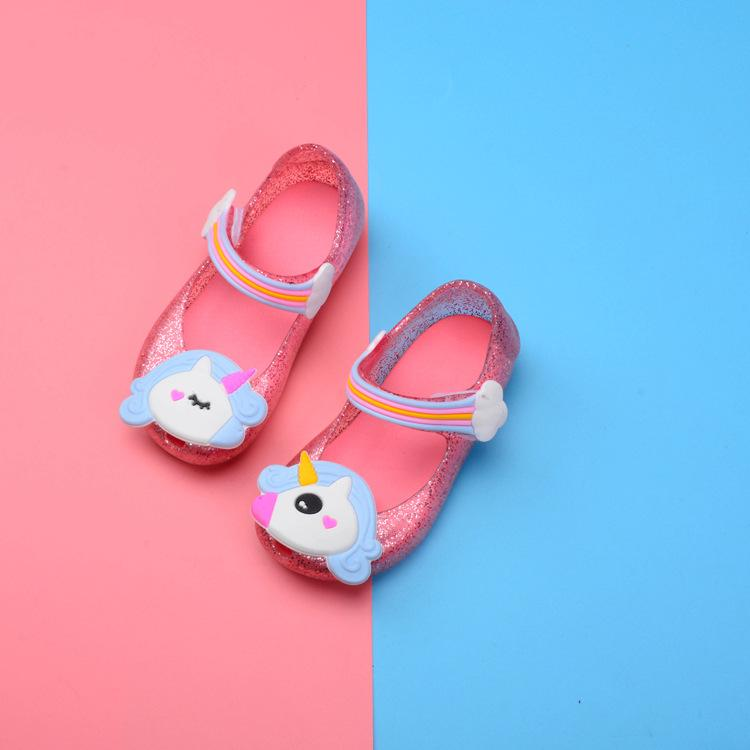 e258f2278 Baby Girl Jelly Shoes Summer New Unicorn Korean Version Of The Lovely  Princess Shoes Girl Sandals LE45 DHL Toddler Boys Boots Kids Shoes Girls  From Mask01, ...