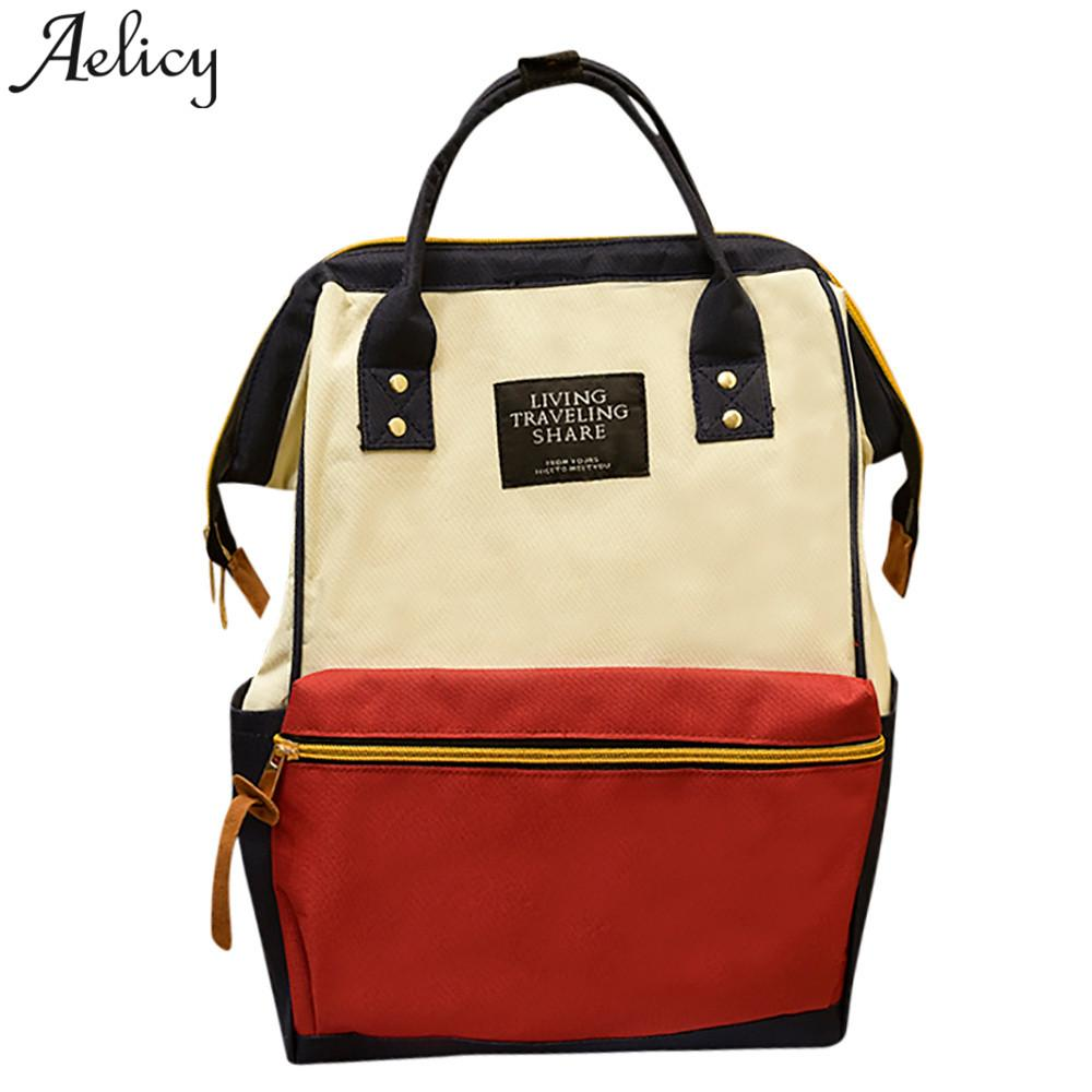 f2f357b878 ... Aelicy Teenage Backpacks For Girl Travel Bag Women Large Capacity  School Bags For Girls Women Backpack ...