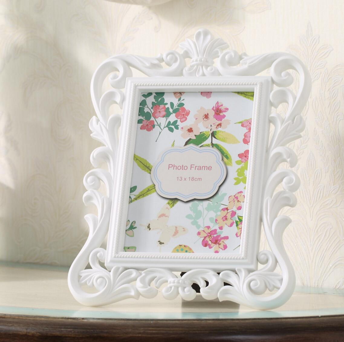 2018 Baroque White Photo Frame Living Room And Bedroom Party Favor ...