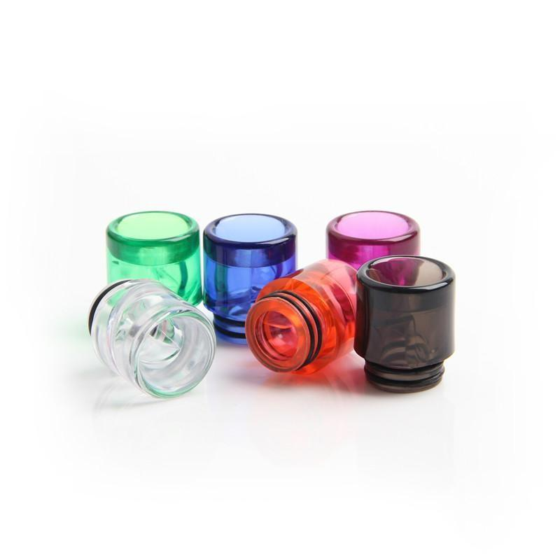 810 Spiral Drip Tip Colorful 810 Helical Spiral Drip Tips