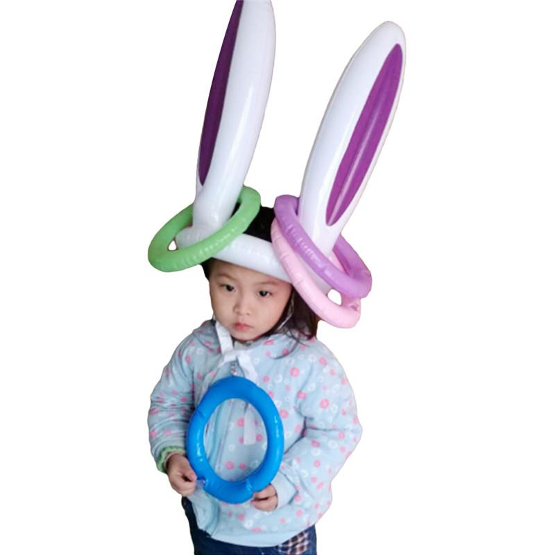 Grosshandel Pool Aufblasbare Spielzeug Osterhasen Ohren Kaninchen Hut
