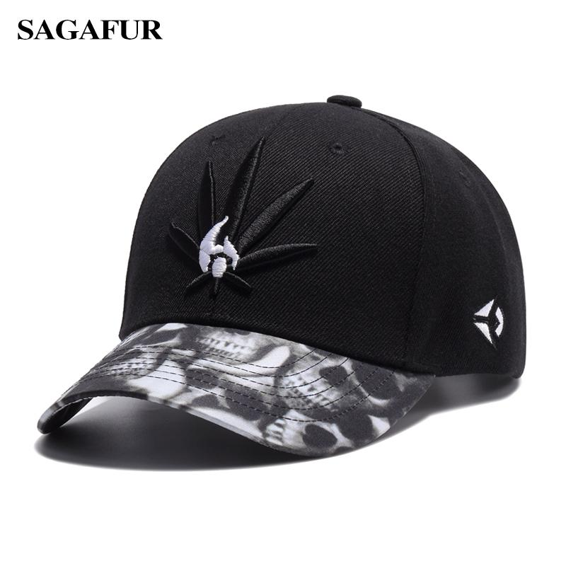 SAGAFUR Embroidery Unisex Baseball Caps Fashion Accessories Super Cool Hip  Hop Caps For Boy Casual Adjustable Sport Hat Mens Hats Baseball Cap From ... aa86afc95d1