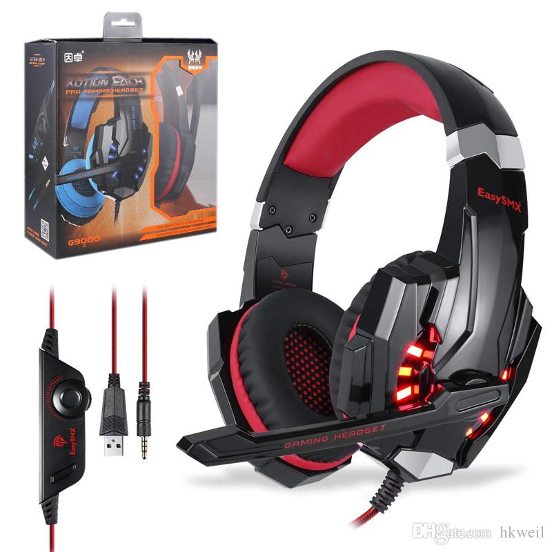 Kotion Each G9000 Stereo Gaming Headset For Ps4 Xbox One Pc Noise
