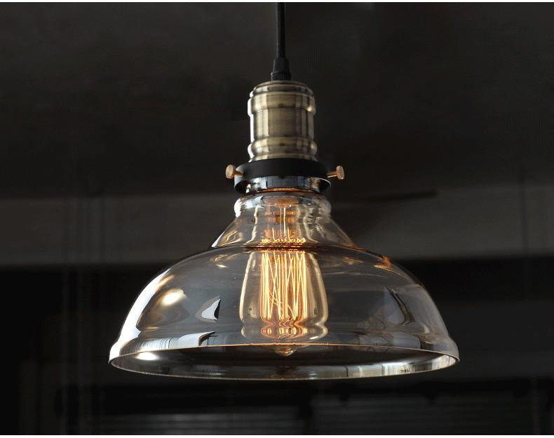 Plafoniere Industrial Style : 2019 ceiling lights retro vintage industrial style edison glass