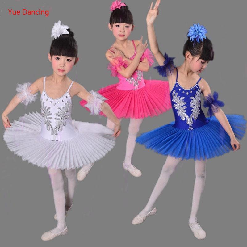 Schwanensee Weiß Nussknacker Mädchen Kleidung Kleid Klassische 3 Ballerina Kostüme Für 15y Ballett Kostüm Kinder bgmIYvf67y