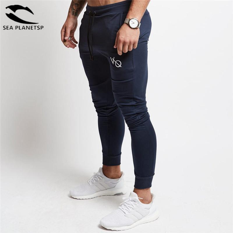 Compre Vanquish 2018 NUEVOS Gimnasios Pantalones De Chándal Casual Para Hombre  Pantalones De Entrenamiento De High Street Pantalones Pitillo Negros Hombres  ... 625a6a3e2a4