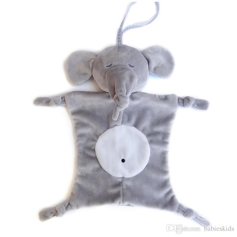 Newborn Blankie Soothing Towel Of Baby Toys Animal Shape Infant Baby Gift Soft Toddler Kids Educational Plush Toys Stuffed Dolls