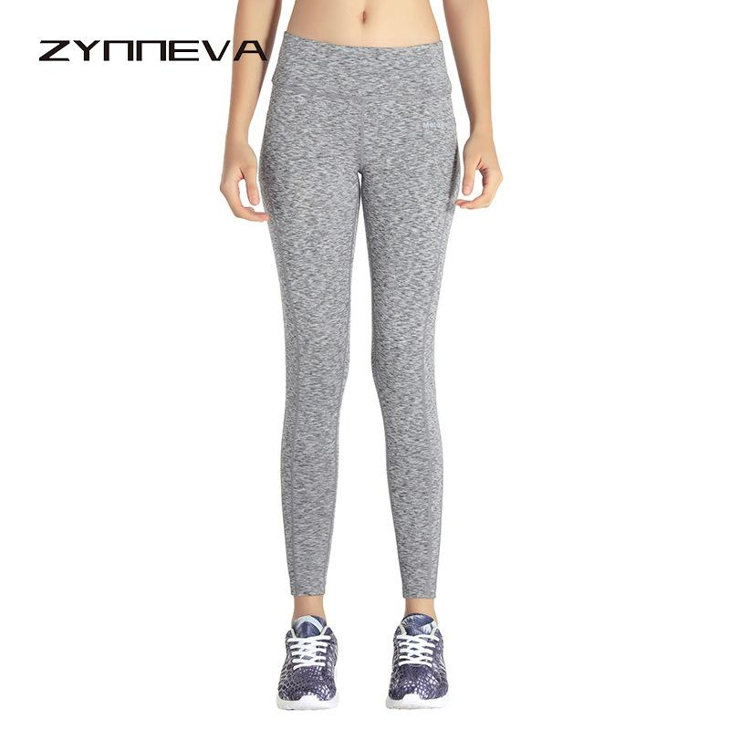 ZYNNEVA Women Yoga Leggings Pants High Elastic Fitness Tights Sport Clothing Slim Workout Sportswear Quick Dry Trousers PB612
