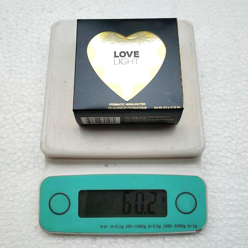 T00Faced Love Light Illuminatore prismatico Evidenziatore Bronzers Illuminatore dorato a scintillazione i Ombretto di buona qualità