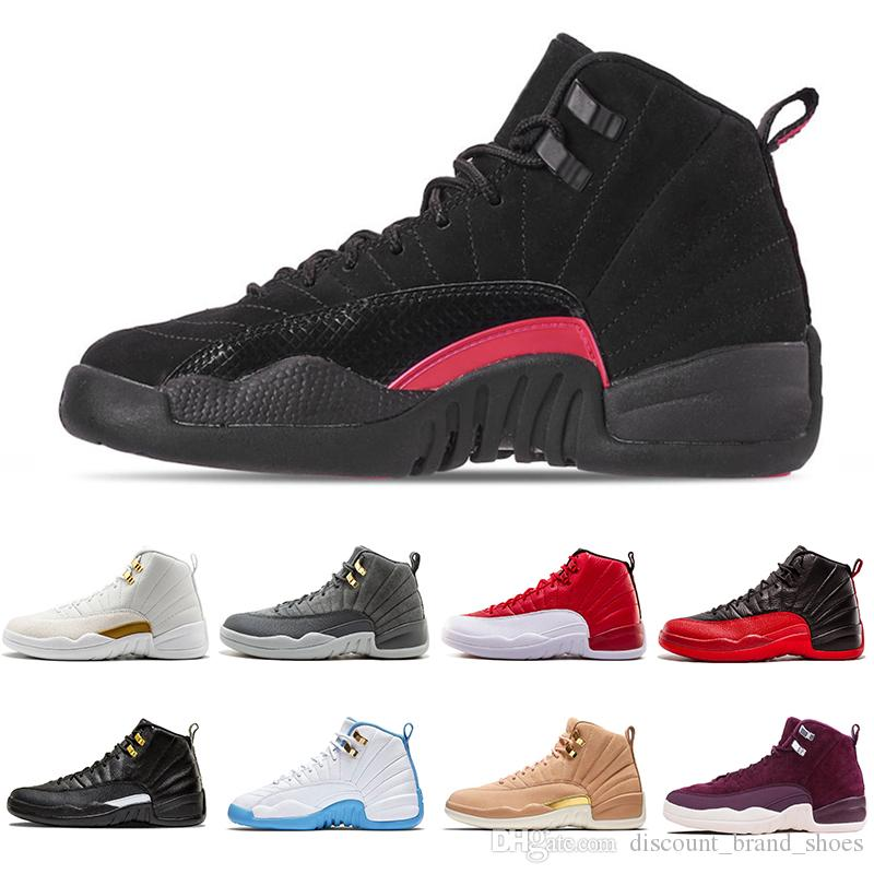 39f17ab3e7c3 With Box AAA+ Quality Rush Pink 510815-006 12 XII 12s Men Women ...