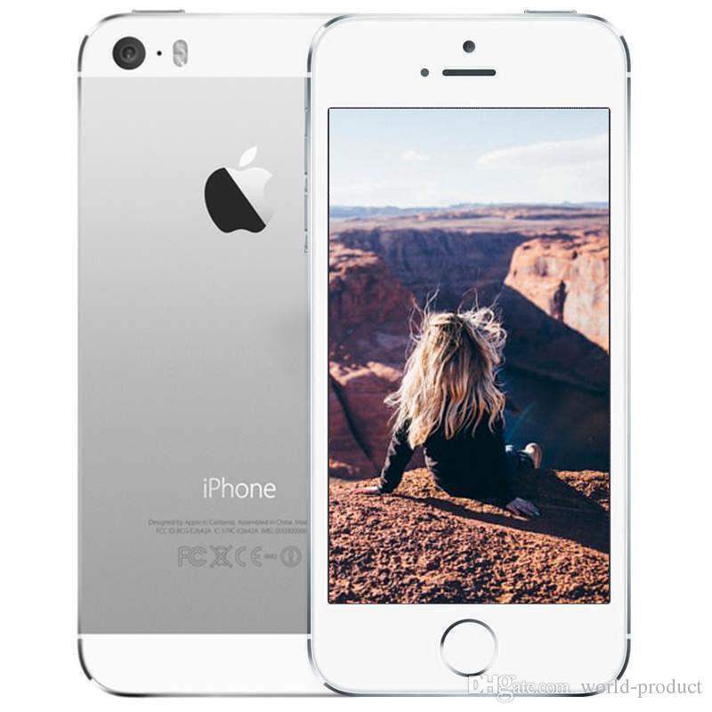Reconstruido Original Apple iPhone SE 4.0 pulgadas pantalla celular de doble núcleo RAM 2G ROM 16G 64G 12MP cámara iOS 9