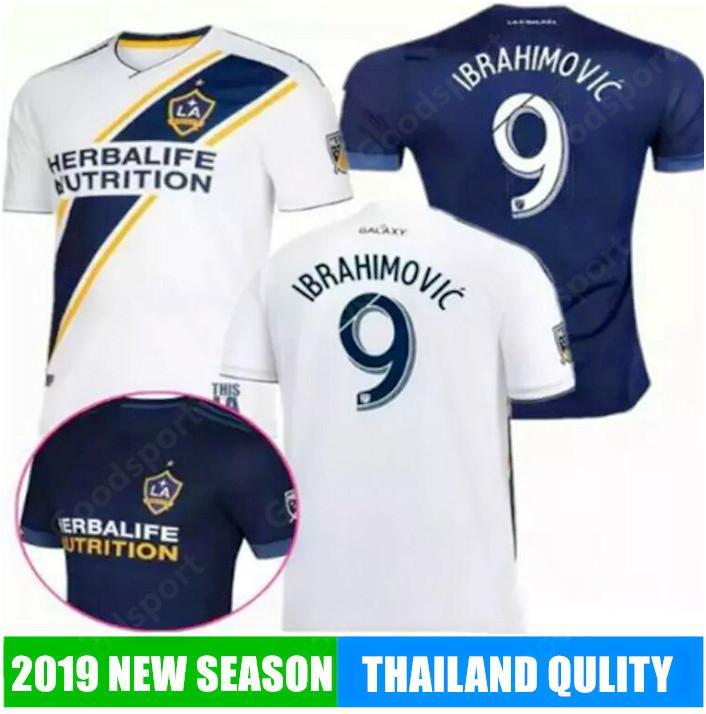 online store 7e8da 6d42e 2019 LA Galaxy Soccer jersey Zlatan Ibrahimovic Los Angeles Home GERRARD  ALESSNDRINI J.DOS SANTOS GIOVANI Football Shirts SR