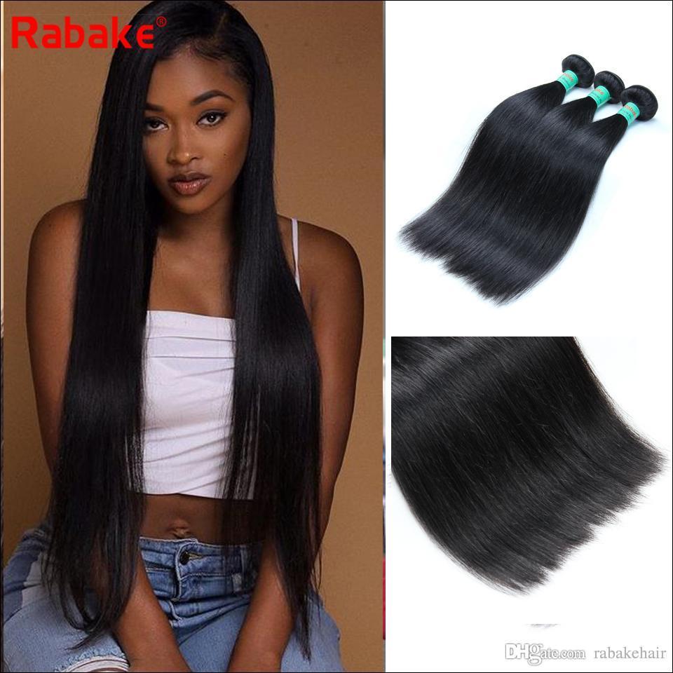 3 9A Grade Peruvian Human Hair Bundles Straight Peruvian Hair Extensions  Wavy Weave Unprocessed Bulk Hair Fast Shipping For Black Women Cheap Human  Hair ... fcec9ea42b