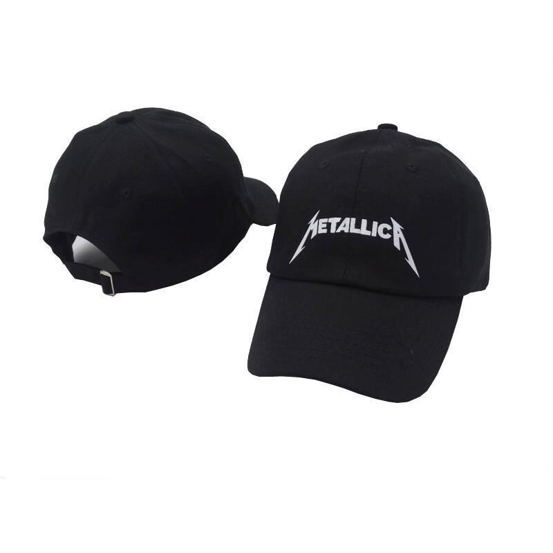 77c69ac82747d Top Seller Corea Japón Asia Estilo Popular Metallica Rock Heavy Metal  Curved Dad Hat