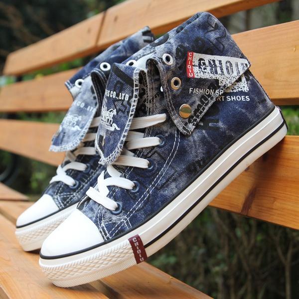 Scarpe Dal Acquista Jeans Di A 6 39 Da Di Uomo Tela Alte Scarpe Hw1wOdq