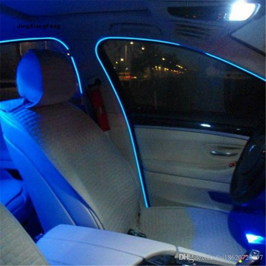 Diy Interior Designer: 2019 3M DIY Decoration Auto Car Interior LED EL Wire Rope