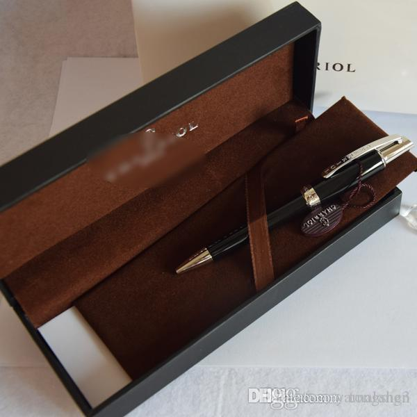 Top quality metal charriol pen silver / golden /rosegolden luxury pen ballpoint pen with box and tag