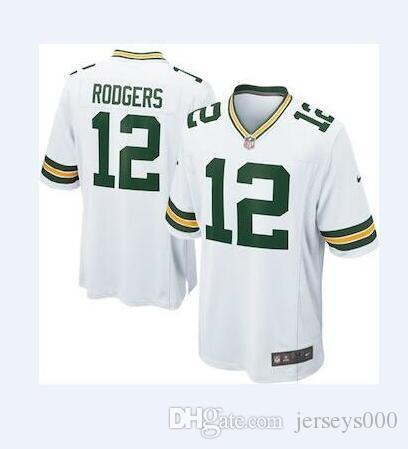 low priced 21a81 9d34d 12 Aaron Rodgers Jersey Green Bay Packers Jimmy Graham Bart Starr salute to  service limited american football jerseys woman mens youth kids