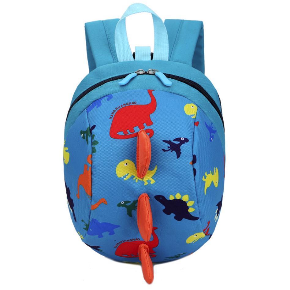 df725da43bee Fashion Cute Backpack Baby Boys Girls Kids Dinosaur Pattern Animals  Backpack Toddler School Bag gift bolsa feminina #xqx