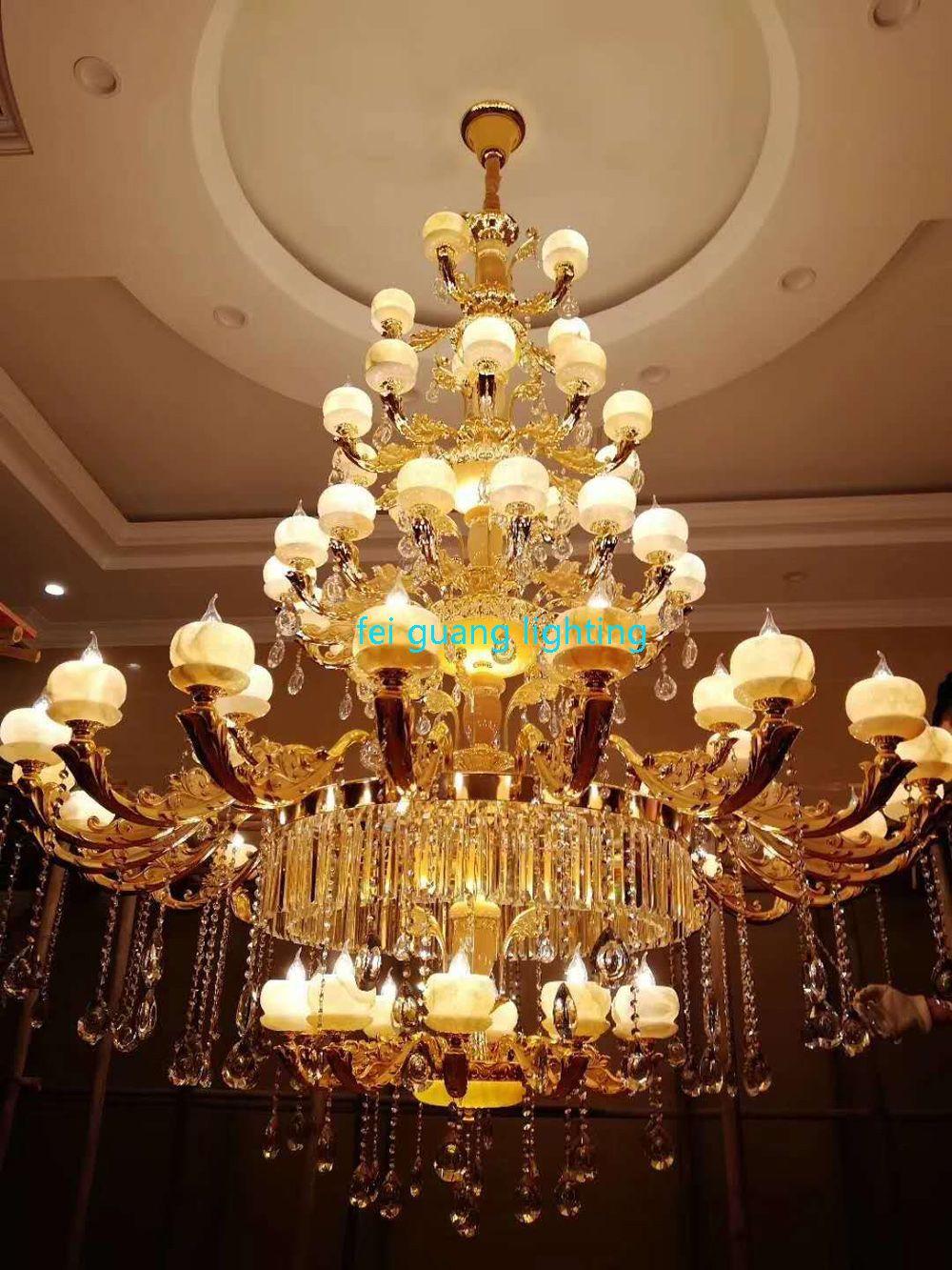 Jade Continental Villa Duplex Living Room Crystal Grand