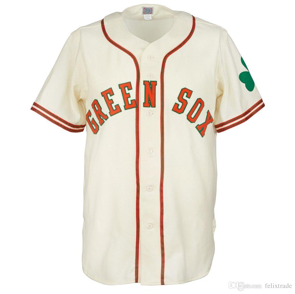 75b6defd4fe Dublin Green Sox 1952 Home Jersey Double Stiched Name   Number ...